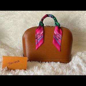 Alma PM Epi Leather